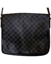 Louis Vuitton Porte document, serviette cuir noir