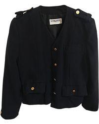Nina Ricci Blazer, veste tailleur synthétique bleu