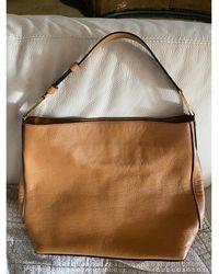 Lancel Sac à main en cuir cuir beige - Neutre