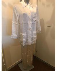 Dior Pyjama soie beige - Neutre