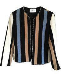 Sandro Veste coton multicolore - Noir