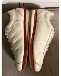 adidas Baskets cuir blanc