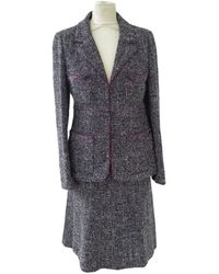Chanel Veste tweed autre - Multicolore