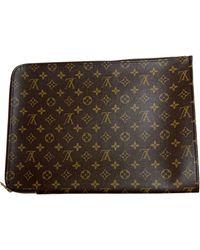 Louis Vuitton - Trousse cuir autre - Lyst