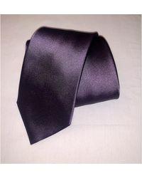 Lanvin - Cravate soie violet - Lyst