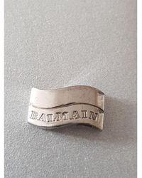 Balmain Pendentif, collier pendentif argent argent - Métallisé