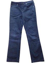 Burberry - Jeans droit denim, jean bleu - Lyst