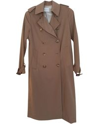 Sandro Imperméable, trench polyester beige - Neutre