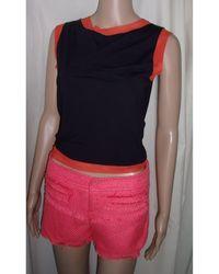Moschino - Top, tee-shirt polyamide multicolore - Lyst