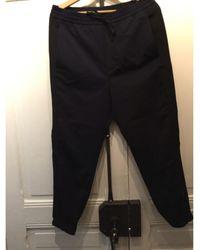 The Kooples - Pantalon de costume coton bleu - Lyst