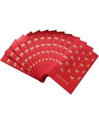 Louis Vuitton Porte-cartes papier, carton rouge