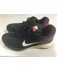 Nike Baskets nylon multicolore