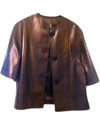Dior Veste cuir noir