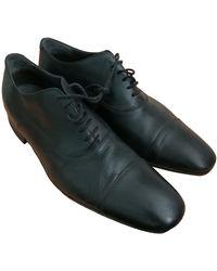 Sandro Chaussures à lacets cuir noir