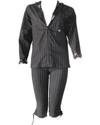 Christian Lacroix Tailleur pantalon polyester noir