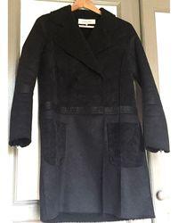 Gerard Darel - Manteau polyester noir - Lyst