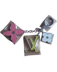 Louis Vuitton Porte-clés chaîne multicolore