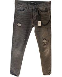 The Kooples Jeans slim denim, jean gris