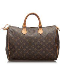 Louis Vuitton Sac à main en cuir monogram canvas autre - Marron