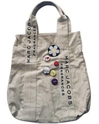Marc Jacobs - Sac XL en tissu toile beige - Lyst