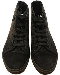 Louis Vuitton Baskets cuir noir