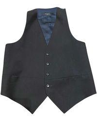 Givenchy Gilet, cardigan coton noir