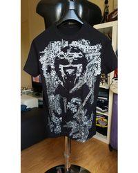 Versace Tee-shirt coton noir