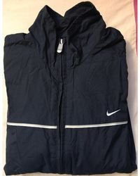 Nike - Haut de survêtement polyamide bleu - Lyst