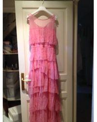 Nina Ricci - Robe de mariée soie rose - Lyst