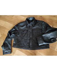 The Kooples Blouson en cuir cuir noir