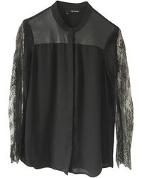 The Kooples Chemise polyester noir