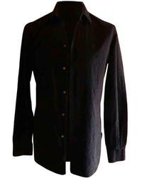 Louis Vuitton Chemise coton noir