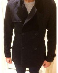 A.P.C. Caban laine noir