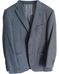 Lanvin - Costume complet laine superfine 120 gris - Lyst