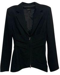 Jean Paul Gaultier Blazer, veste tailleur laine noir