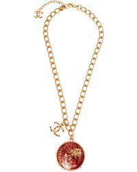 Chanel Collier métal doré - Métallisé