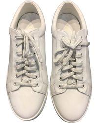 Louis Vuitton Baskets cuir blanc