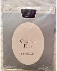 Dior Bas auto-fixant polyamide marron