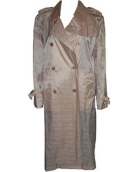Nina Ricci - Imperméable, trench polyester rose - Lyst