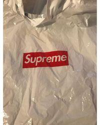 Supreme Coupe-vent imperméable blanc