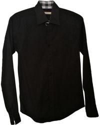 Burberry Chemise coton noir