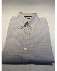 Louis Vuitton - Chemise coton gris - Lyst