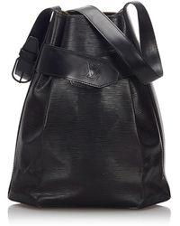 Louis Vuitton Sac en bandoulière en cuir epi leather autre - Noir