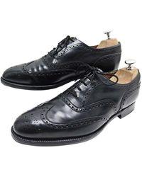 Church's Chaussures à lacets cuir noir