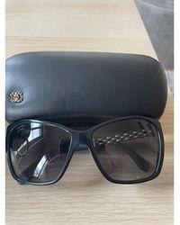 Chanel - Lunettes de soleil noir - Lyst