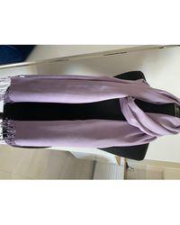 Longchamp Etole soie violet
