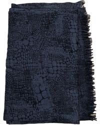 Sandro Echarpe laine mélangée gris