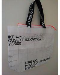 Nike Sac en bandoulière synthétique blanc