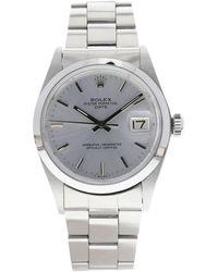 Rolex Montre au poignet acier DATEJUST argent - Métallisé