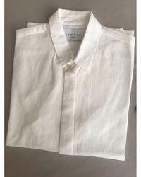 Sandro Chemise coton blanc